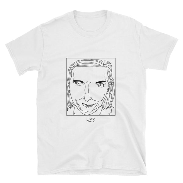 Badly Drawn Wes Anderson - Unisex T-Shirt