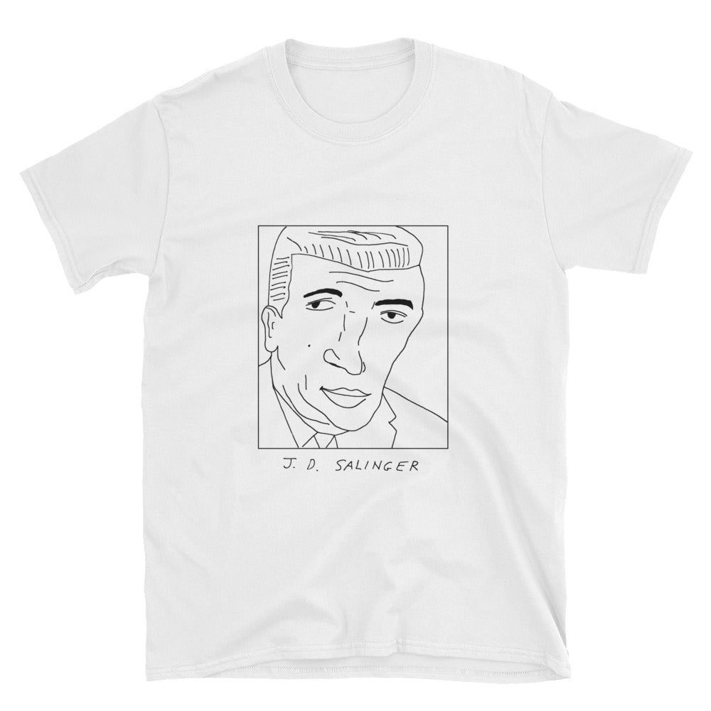 Badly Drawn J. D. Salinger - Unisex T-Shirt