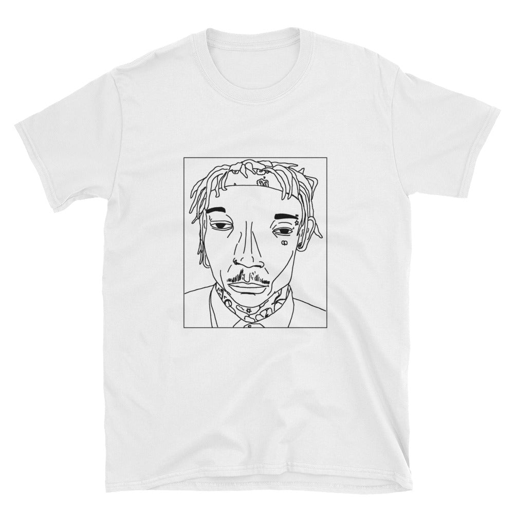 Badly Drawn Wiz Khalifa - Unisex T-Shirt