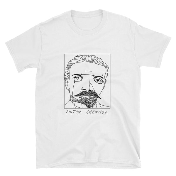 Badly Drawn Anton Chekhov - Unisex T-Shirt