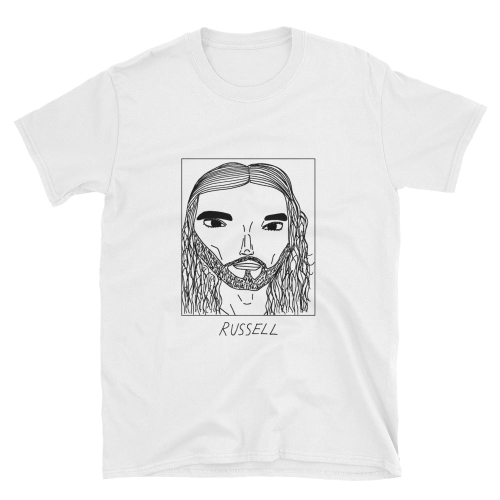 Badly Drawn Russell Brand - Unisex T-Shirt