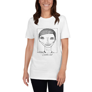 Badly Drawn Charlize Theron -  Unisex T-Shirt