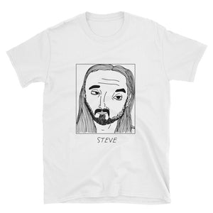 Badly Drawn Steve Aoki - Unisex T-Shirt