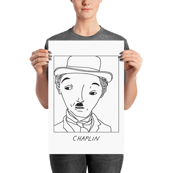 Badly Drawn Charlie Chaplin - Poster