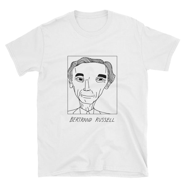 Badly Drawn Bertrand Russell - Unisex T-Shirt