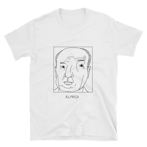 Badly Drawn Alfred Hitchcock - Unisex T-Shirt