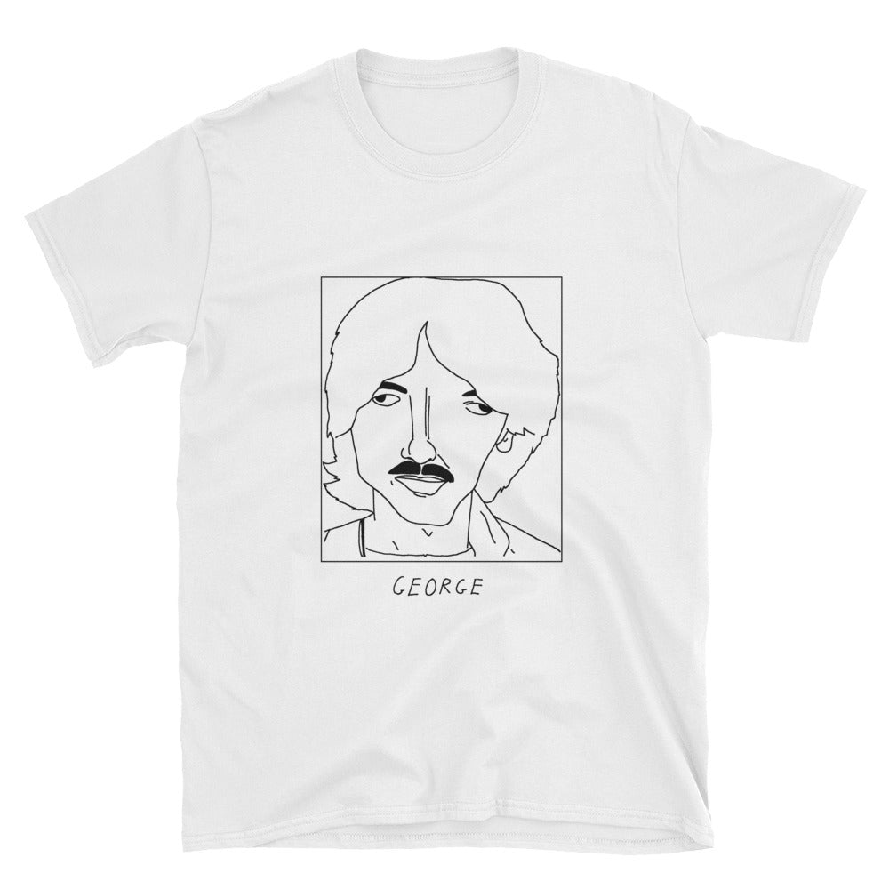 Badly Drawn George Harrison - The Beatles - Unisex T-Shirt