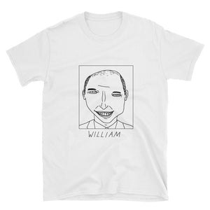 Badly Drawn Prince William - Unisex T-Shirt