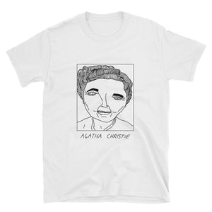 Badly Drawn Agatha Christie - Unisex T-Shirt