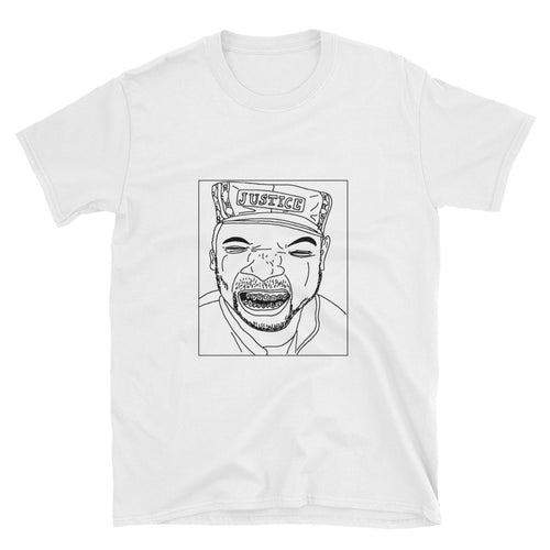 Badly Drawn Just-Ice Unisex T-Shirt