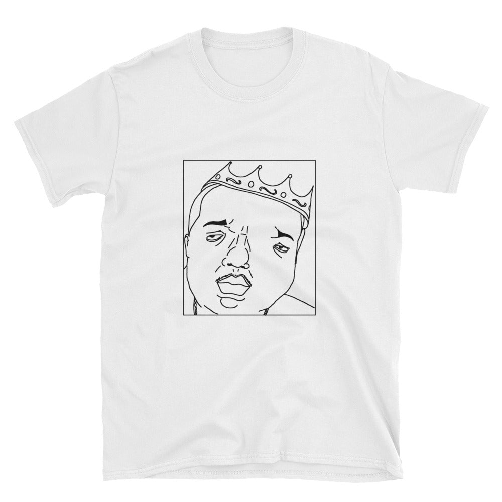 Badly Drawn Notorious B.I.G. - Unisex T-Shirt - Biggie Smalls