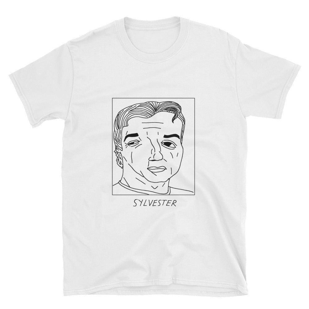 Badly Drawn Sylvester Stallone - Unisex T-Shirt