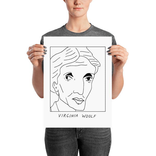 Badly Drawn Virginia Woolf - Poster
