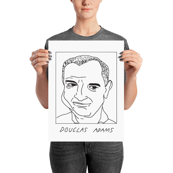 Badly Drawn Douglas Adams - Poster