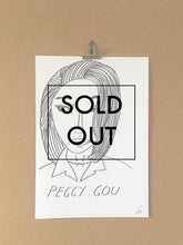 SOLD OUT - Badly Drawn Peggy Gou - Original Drawing - A3.