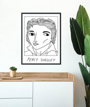 Badly Drawn Percy Shellley - Poster - BUY 2 GET 3RD FREE ON ALL PRINTS