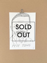 SOLD - Badly Drawn Pete Tong - Original Drawing - A3.