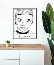 Badly Drawn Rihanna - Poster - BUY 2 GET 3RD FREE ON ALL PRINTS