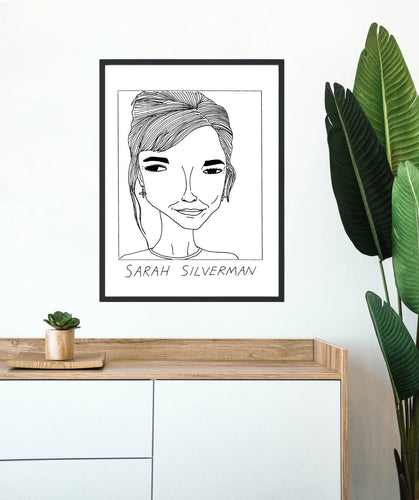 Badly Drawn Sarah Silverman - Poster - BUY 2 GET 3RD FREE ON ALL PRINTS