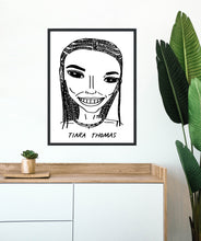Badly Drawn Celebs - Tiara Thomas - Poster - Grammys 2021 (Limited Edition - Signed and Numbered)