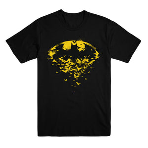 Batman Black & Yellow Bats T-shirt