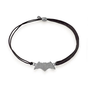 ALEX AND ANI Justice League Batman Pull Cord Bracelet