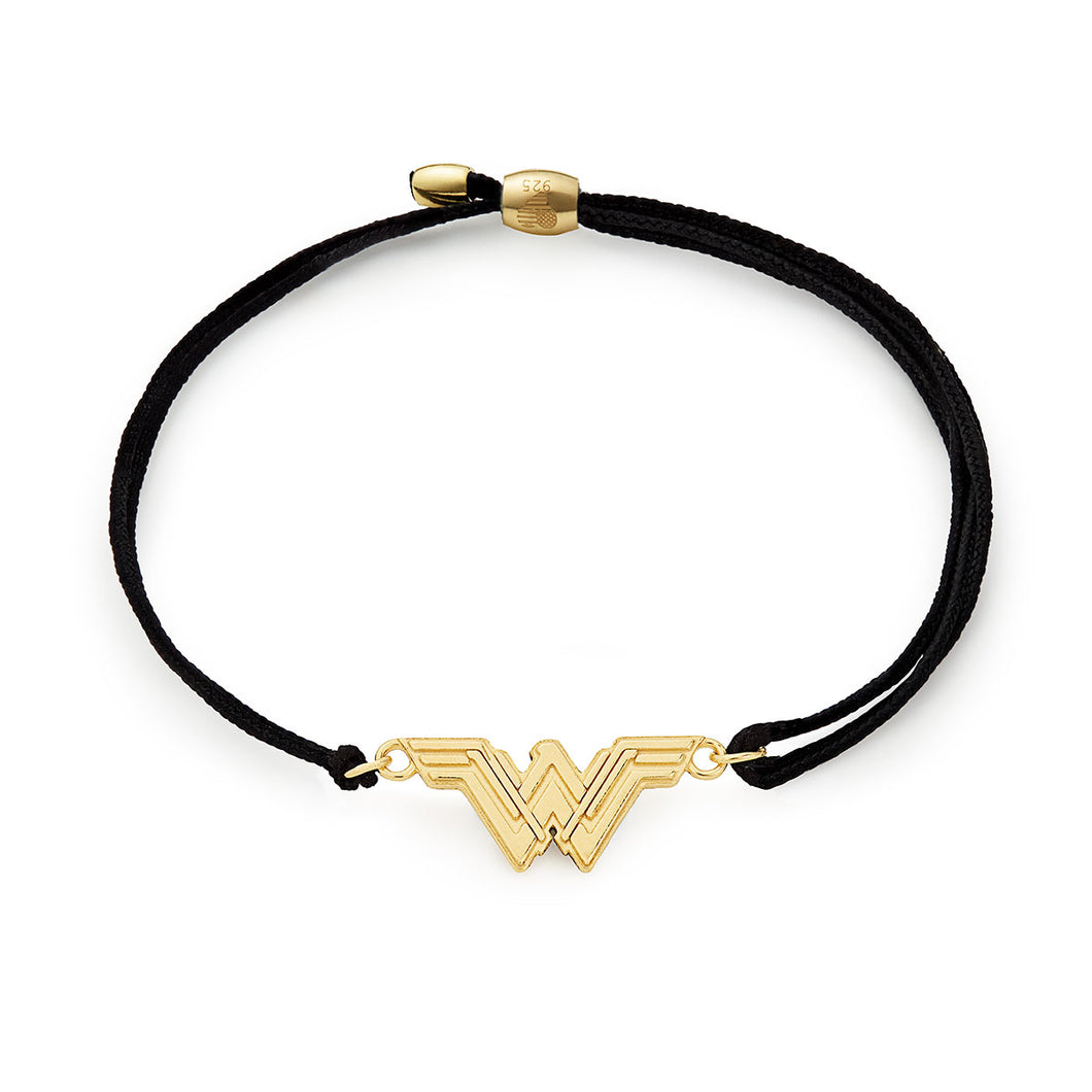 ALEX AND ANI Justice League Wonder Woman Pull Cord Bracelet