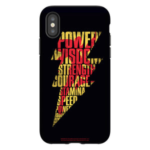 Shazam Movie! Lightning Bolt Phone Case