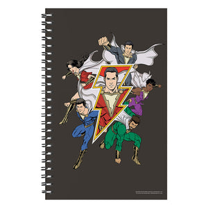 Shazam! Movie Family Notebook