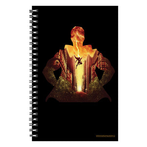 Shazam! Movie Hero over Fawcett City Notebook