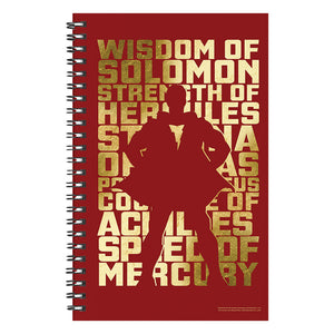 Shazam! Movie Immortal Elders Notebook