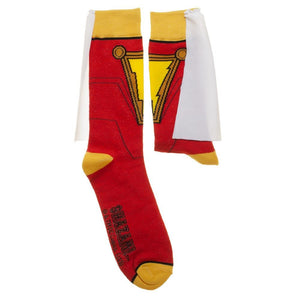 Additional image of Shazam! Movie Suit & Cape Crew Socks