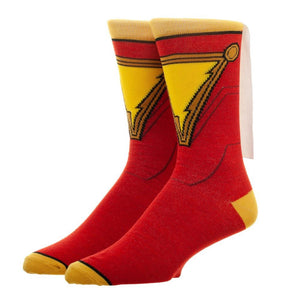 Shazam! Movie Suit & Cape Crew Socks