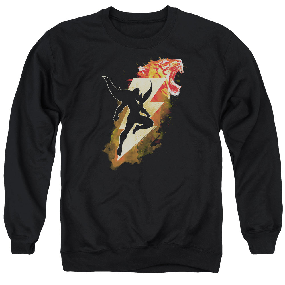 Shazam! Movie Tiger Bolt Crewneck Sweatshirt