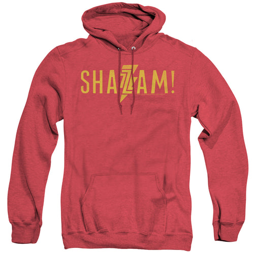 Shazam! Movie Flat Logo Heather Hoodie