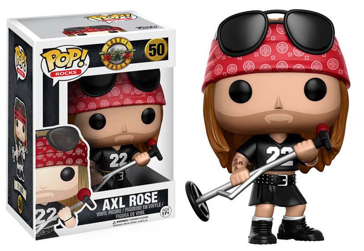 Funko Toys Guns n Roses Axl Rose Pop Rocks Vinyl Figure - Rockteez Apparel