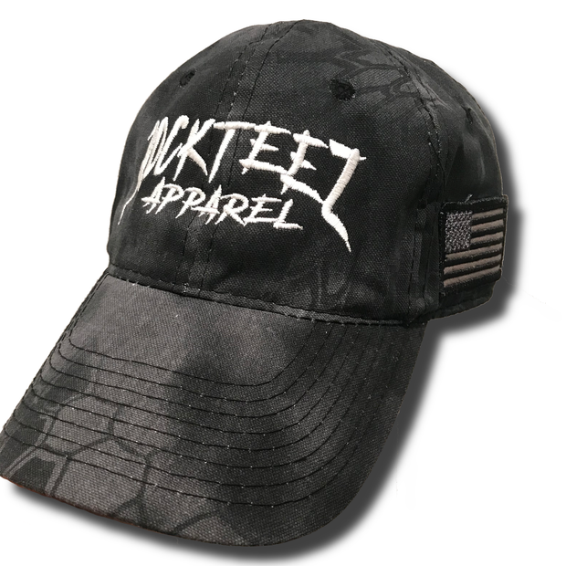 Kryptek Black Camo Hat - Rockteez Apparel