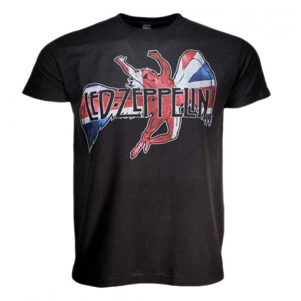Led Zeppelin Icarus Flag T-Shirt