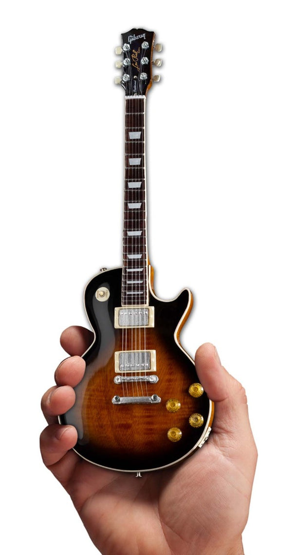 Axe Heaven Gibson 1959 Les Paul Traditional Tobacco Burst Mini Guitar Collectible
