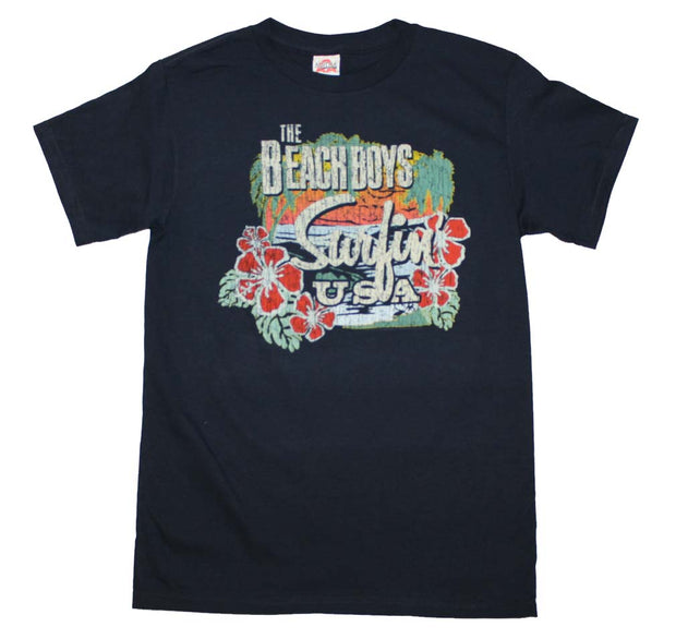 Beach Boys Surfing USA Tropical T-Shirt - Rockteez Apparel