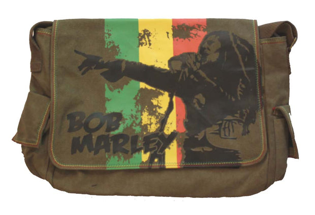 Bob Marley Marley Messenger Bag - Rockteez Apparel