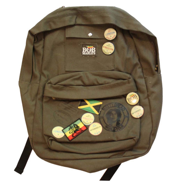 Bob Marley Zion Backpack - Rockteez Apparel