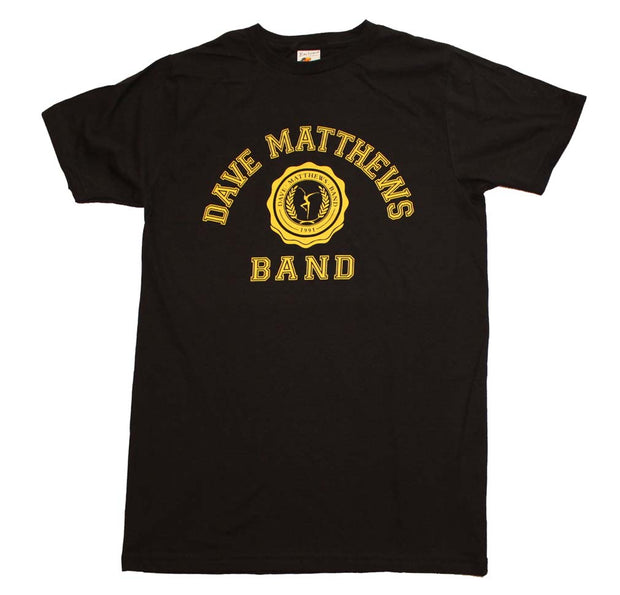 Dave Matthews Band Collegiate Logo T-Shirt - Rockteez Apparel