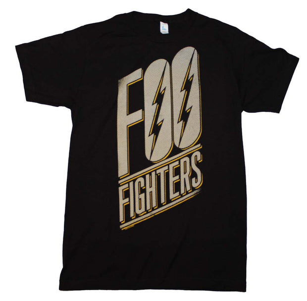 Foo Fighters Slanted Logo Slim Fit T-Shirt - Rockteez Apparel