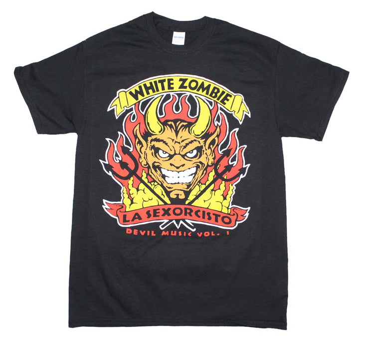 White Zombie Devil Music T-Shirt | Rockteez Apparel