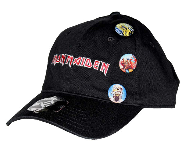 Iron Maiden Trooper Pin Hat - Rockteez Apparel