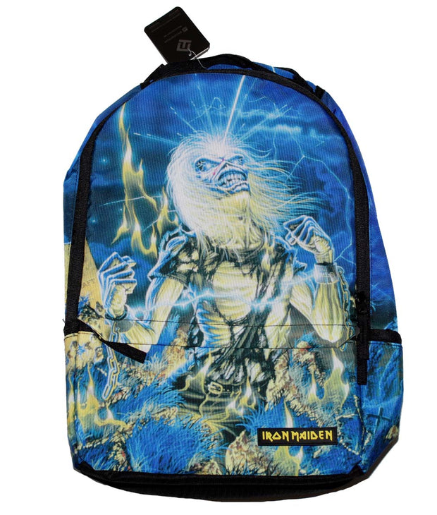 Iron Maiden Album Cover Backpack - Rockteez Apparel