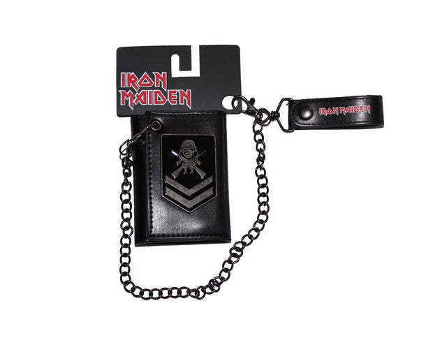 Iron Maiden Matter of Life and Death Wallet & Chain - Rockteez Apparel