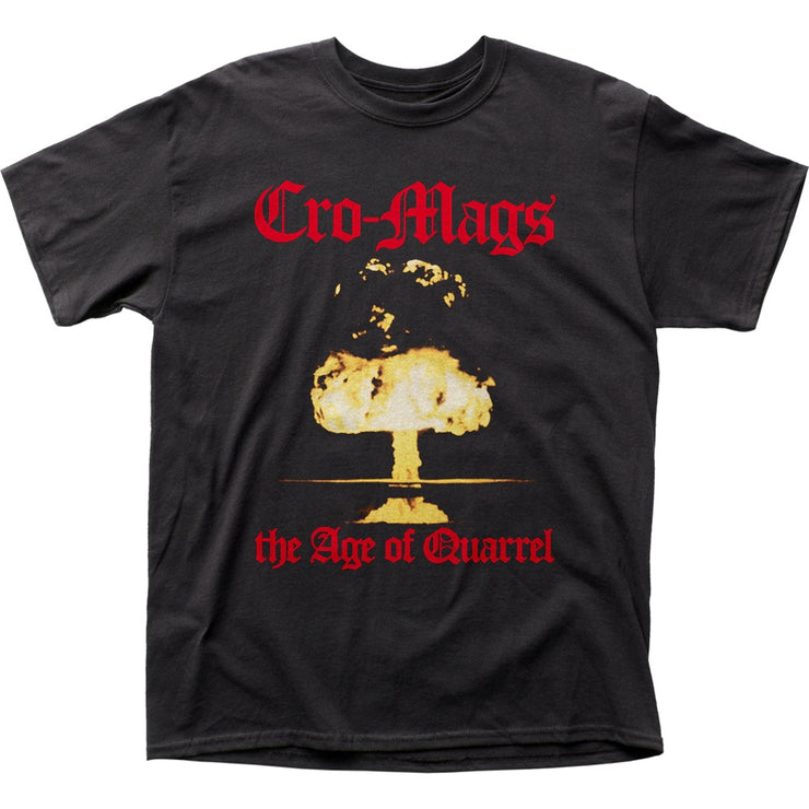 Cro-Mags Age of Quarrel T-Shirt - Rockteez Apparel