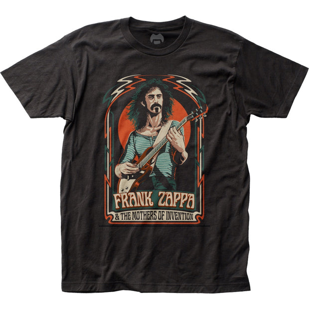 Frank Zappa Illustration T-Shirt - Rockteez Apparel
